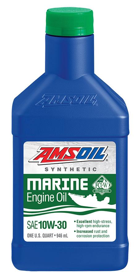 Amsoil Sae 10w 30 Formula 4 Stroke Marine Synthetic Motor